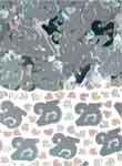 Partyrama Confettis décoratifs pour Anniversaire de Mariage 25 Ans Argenté