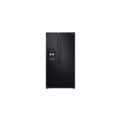 Samsung rs50n3803bc-réfrigérateur américain-501 l (357 + 144 l)-Froid ventilé-a+-l 91,2 x h 178,9 cm-Noir Carbone