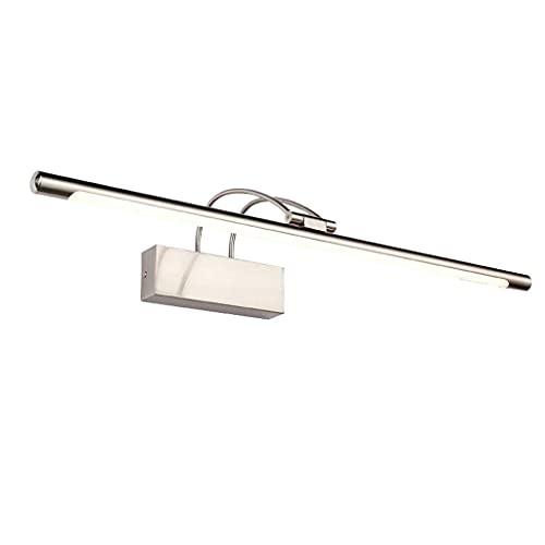 WHSW Applique da Parete per Bagno, Illuminazione da Bagno Vanity LED Cornice per Specchio, Bagno Impermeabile Anti Appannamento Lampada da Parete per Bagno Lampada Decorativa Lampade Moderne semp