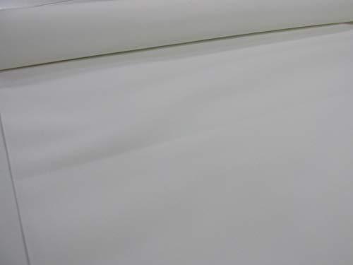 Confección Saymi Metraje 0,50 MTS. Tejido Lona acrílica, Color Blanco, con Ancho 3,20 MTS.