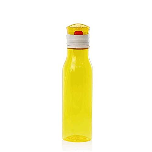 N&O Botella de Agua filtrada Paja de Filtro integrada sin BPA para Acampar Excursionismo mochilero y Viajes (Color D Tamaño 600 ml)