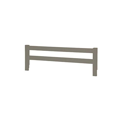 Wooden Safety Bed Side Guard Rail for Toddler, Kids and Children's Beds (Espresso)
