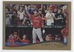 Albert Pujols; Checklist #125/2,014 (Baseball Card) 2014 Topps Update Series - [Base] - Gold #US-1