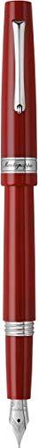 Montegrappa Armonia Bordeaux - Pluma estilográfica, color rojo