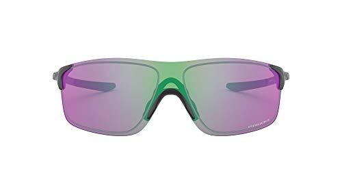 Oakley Unisex-Erwachsene Evzero Pitch OO9388 Sonnenbrille, Grau (Steel/Prizm Golf), 38