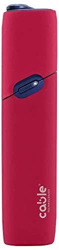 Soft Case para IQOS® 3 Multi, Funda Protectora Suave para IQOS® 3 Cigarrillo electrónico Multi Silicona Suave al Tacto, contra rasguños, caídas y Golpes accidentales, Casas de mordibo (Red)
