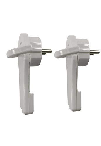 angulo extraplano enchufe angulonde paroteccion de contacto protector de enchufe plastico extraplano color blanco 2 unidads