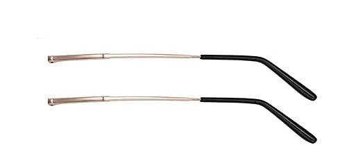 Jingyun 1 Paar Metallbrillen Ersatzbrillen Ersatz Bügelbrillengestell Bügelbrillen Arme Beine für Erwachsene-B05