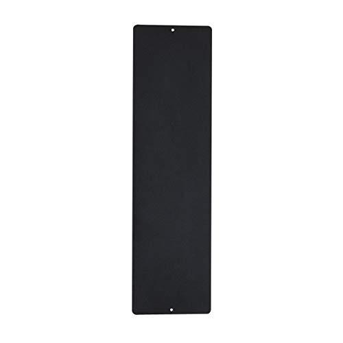 KalaMitica, Pizarra magnética para Pared, Acero, Color Antracita, Dimensiones 14X50x0,12 cm