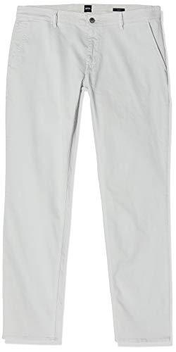 BOSS Herren Schino-slim D Hose, Silber (Silver 43), 36W / 30L