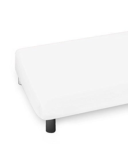 Heike Jersey New Edition Spannbetttuch - weiß 9000-180 x 190-200 x 200 cm
