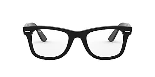 Ray-Ban 0rx 4340v 2000 50 Monturas de Gafas, Shiny Black, Unisex-Adulto