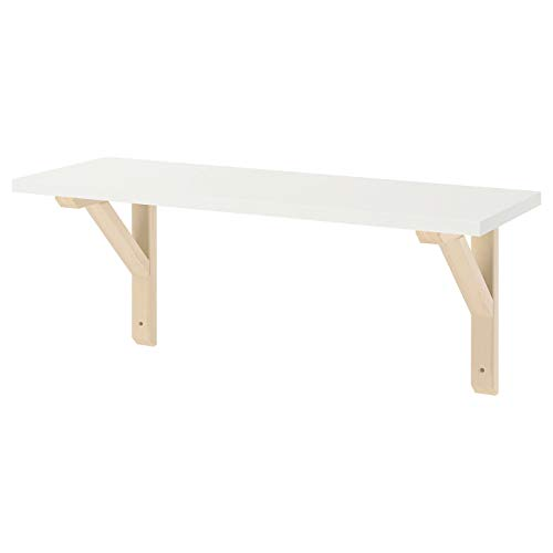 My- Stylo Collection - Estantería de Pared, Color Blanco, tamaño del Producto: Ancho: 59 cm Profundidad: 20 cm