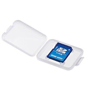 SDカード用クリアケース 6個入り FC-MMC10SD [SDカード用]