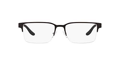 lentes de armazon negro fabricante AX ARMANI EXCHANGE