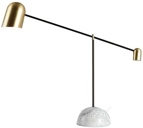 JAOSY Minimalista Personalidad Creativa Sala de Estar Dormitorio Moda de Lujo lámpara de Noche lámpara Moderna 50 * 69 cm después de mármol