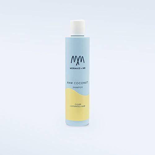Mermaid + Me Raw Coconut Shampoo (250 ml) – sanftes Shampoo mit Coconut Power – vegane Haarpflege für trockenes Haar – süßer Kokos Duft