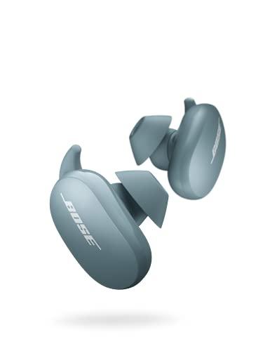 Bose QuietComfort Earbuds 完全ワイヤレスイヤホン ノイズキャンセリング マイク付 最長6時間+12時間 再生 タッチ操作 防滴 ストーンブルー 限定カラー