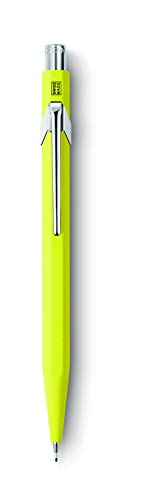 Caran D'ache 844: Mechanical-pencil Metal Fluo Yellow 0.7 mm (844.470)