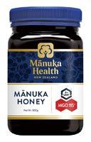 Manuka Health New Zealand Ltd マヌカハニーMGO115+/UMF6+(マヌカヘルス) オーサワジャパン 500g×10個