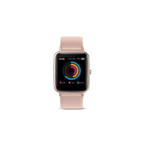 SPC Smartee Boost - Smartwacth con GPS, Waterproof 5ATM, monitoriza hasta 15 Deportes y autonomía de hasta 12 días Color Rosa