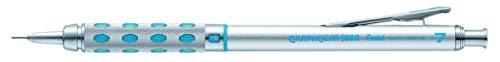 Pentel GraphGear Portaminas, plateado, 0.7 mm