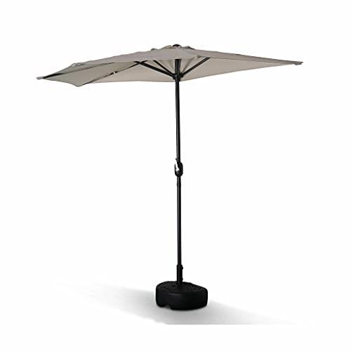 demi parasol carrefour