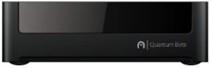 Azulle Quantum Byte Fanless Mini Desktop PC (Windows 10 Home, Intel Atom Z3735F, 2GB RAM+32GB storage)