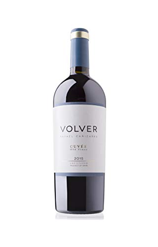 BODEGAS Y VIÑEDOS VOLVER | Vino Tinto Volver Cuvée | Variedades Tempranillo y Cabernet Sauvignon | Vinos de la Tierra de Castilla | Cosecha de 2015 | (1 Botella x 750 ml) |
