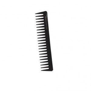 Centaure - Peigne noir démeloir dents large 17,5 cm