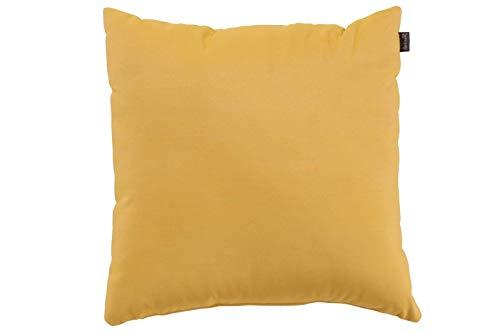 Hartman Samson Zierkissen in gelb, Sofakissen Sunbrella-Textil, Deko-Kissen 45x45cm, Outdoor Polster für Gartenmöbel