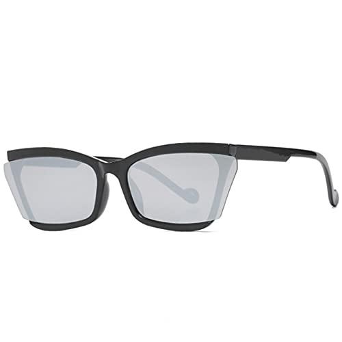 ShSnnwrl Gafas Sol De Hombre Mujer Polarizadas Sunglasses Gafas De Sol De Ojo De Gato para Mujer Diseñador De Marca De Lujo Lente Única Ga