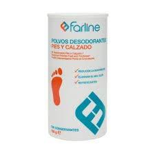 Polvos desodorantes pies y calzado Farline 100 g