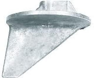 Mercury Quicksilver OEM Aluminum Lower Trim Tab Anode 31640, 31640-4, 31640Q4 Fits Alpha 1, TR, TRS Most Mercury & Mariner Outboards 35HP-200HP