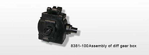 DHK HOBBY Differential Gear Box Assembly- Hunter BL/ Maximus 8381-100