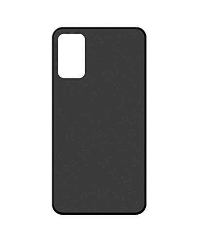 Sunrive Kompatibel mit ZTE Axon 20 5G Hülle Silikon, Handyhülle matt Schutzhülle Etui 3D Hülle Backcover (W1 schwarz) MEHRWEG+Gratis Universal Eingabestift