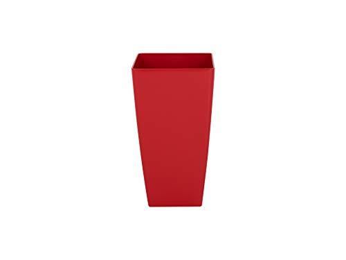 Artevasi Maceta, Rojo, 33x33x61 cm, Pisa 60 cm