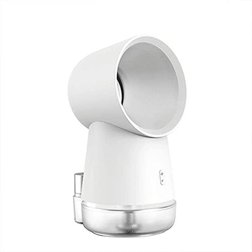JONJUMP USB portátil refrigerado por agua ventilador de aire acondicionado ventilador de escritorio sin aspas para oficina en casa spray humidificador refrigerador de aire