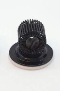 Stifthalter, Stifthalter selbstklebend, Pinselhalter, Pen clip, Federhalter, in verschiedenen Farben (Schwarz)