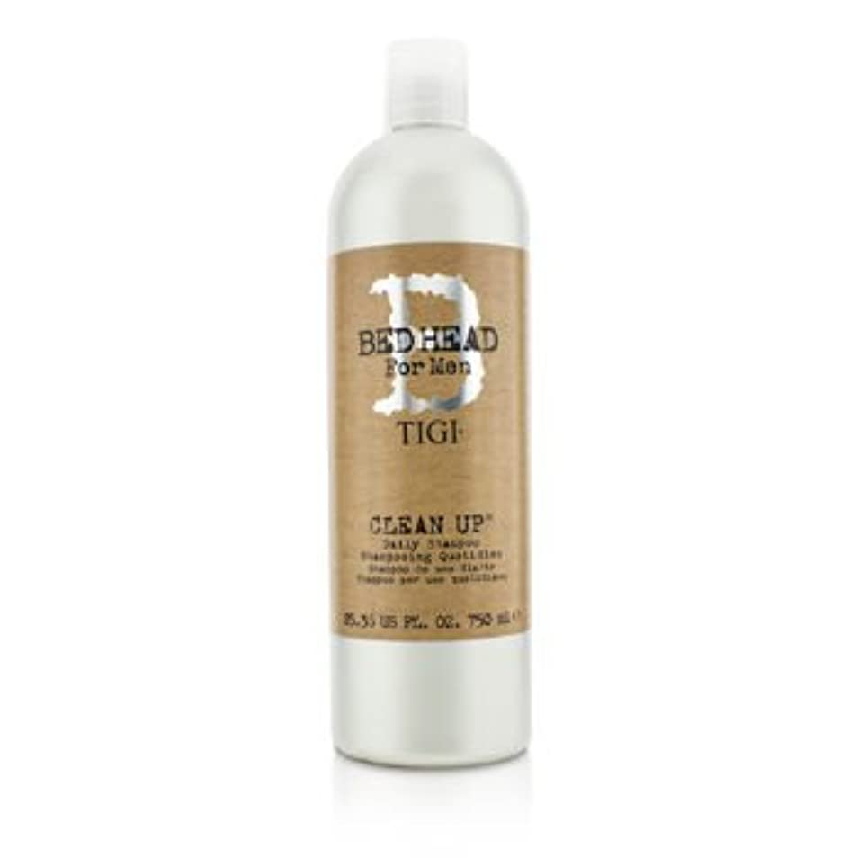コミット技術的な債務者[Tigi] Bed Head B For Men Clean Up Daily Shampoo 750ml/25.36oz