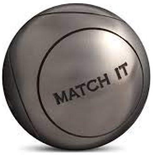 Obut - Match it INOX 76mm strie1 - Boules de pétanque