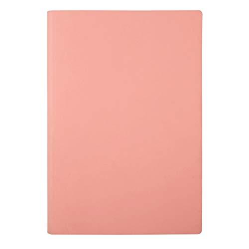 LICHUAN Diario de piel sintética con matriz de puntos, creativo y superficie suave, página interior de 80 g de longitud lateral es de 4 mm