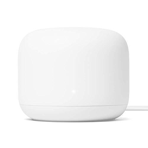 Google Nest Wifi - Router Mesh (1GB RAM, 4GB flash, Bluetooth, WPA3), color blanco (Reacondicionado)