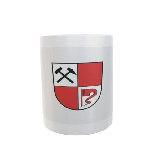 U24 Tasse Kaffeebecher Mug Cup Flagge Senftenberg
