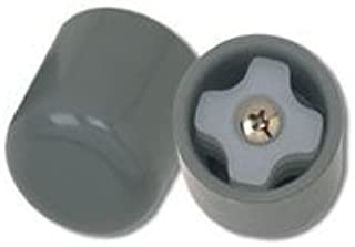Drive Medical Deluxe Walker Glide Caps, Gray - 3 Pairs