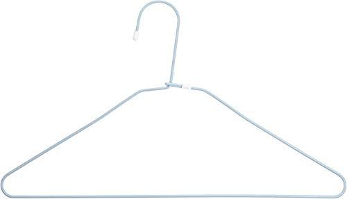 洗濯 物干し ハンガー マイランドリー 2 ワイヤー DX ブルー 4本組 落ち防止 ワイドタイプ