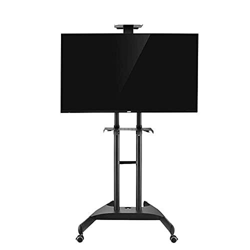 FACAZ Soporte para TV, Carro para TV para Pantallas Planas de Plasma LED LCD de 32 a 65 Pulgadas |Soporte móvil con Ruedas, Estante Universal de suspensión Vertical para LCD en el Suelo