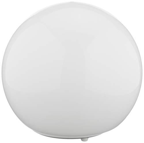 Fado Tischleuchte, weiß, Glas, White, 28 x 27 x 28 cm