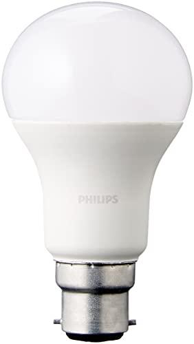 Philips Lot de 2 Ampoules LED Standard Culot B22, 13W équivalent 100W, Blanc Chaud 2700K, Dépolie