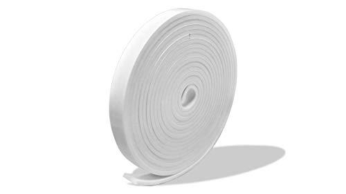 プランプ オリジナル 隙間テープ スキマッチ 白 ホワイト 厚 2 mm×幅 10 mm × 長 2 m 2本入(合計4m) 日本製 ゴムスポンジ 防水 防音 すきま 窓 玄関 引き戸 隙間